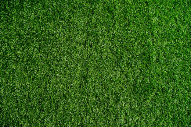Artificial green grass using for background or texture