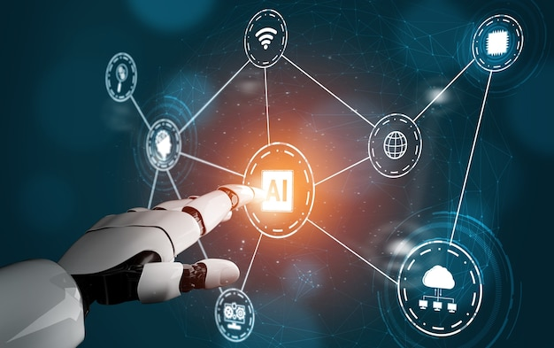 ロボットとサイボーグ開発の人工知能ai研究