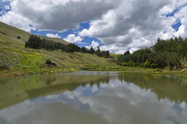 農業分野の人工湖
