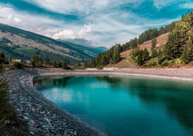 Val troncea, 이탈리아의 인공 호수