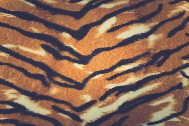 Artificial tiger skin pattern baackground