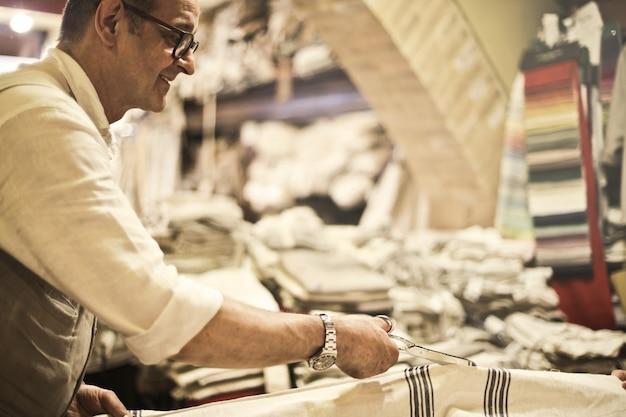 Artisan fabric shop