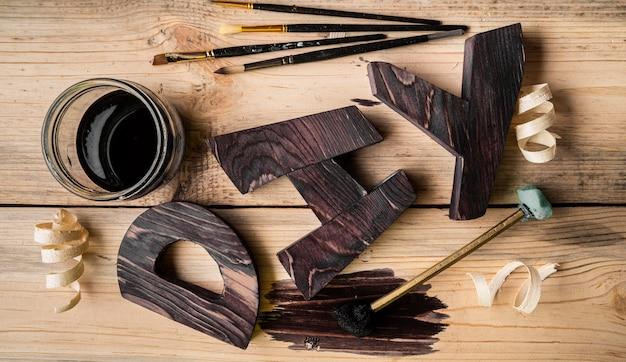 Artisan jobs equipment and diy word assortment