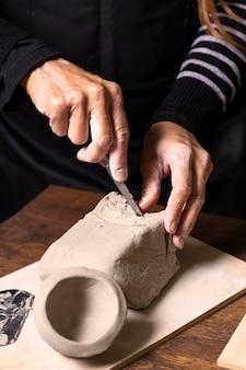 Горшок для лепки artisan
