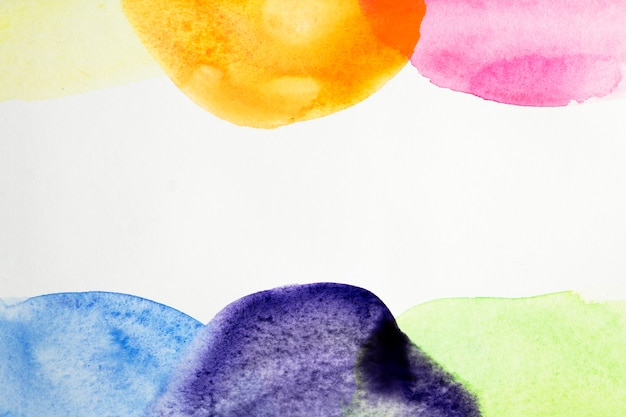Artistic background of colorful watercolor texture