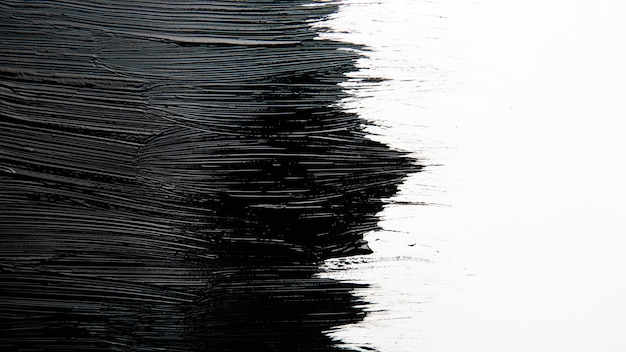페인트 브러시 획의 예술적 질감