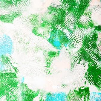Artistic texture of paint brush stroke