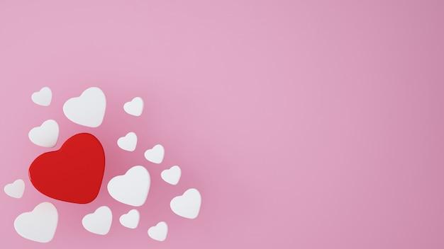 삽화 배경 valentin 하루