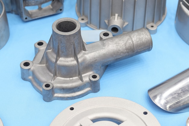 As cast  aluminium die casting part