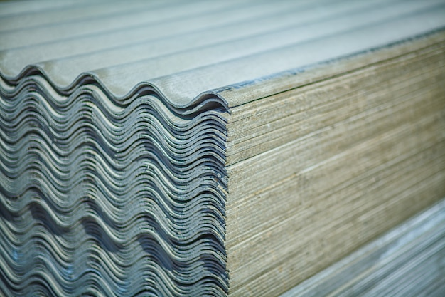 Asbestos roof. asbestos cement roofing sheets