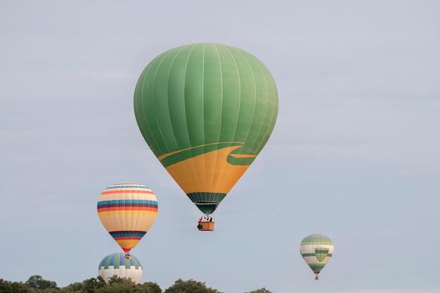 Восхождение на фестиваль воздушных шаров