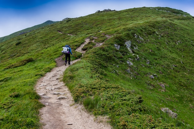 Ascent of a tourist