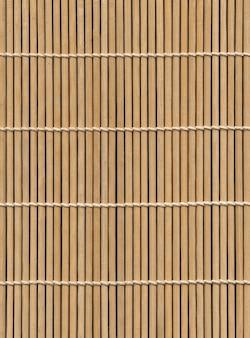 アジアの竹マットテクスチャ背景