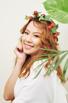 アジアの美しい女性