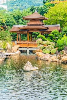 Asian building lin garden chi