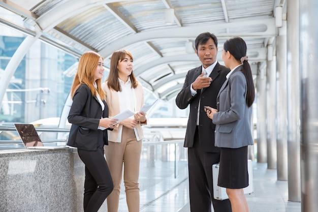 아시아 비즈니스 팀 회의