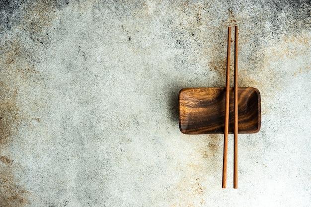 箸でアジア料理の場所の設定