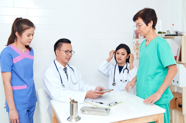 Asian healthcare group professional
