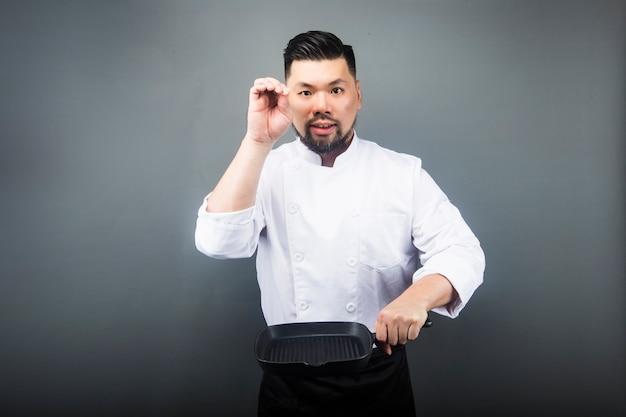 An asian male