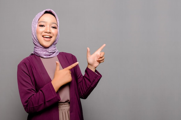 Asian muslim woman with hijab