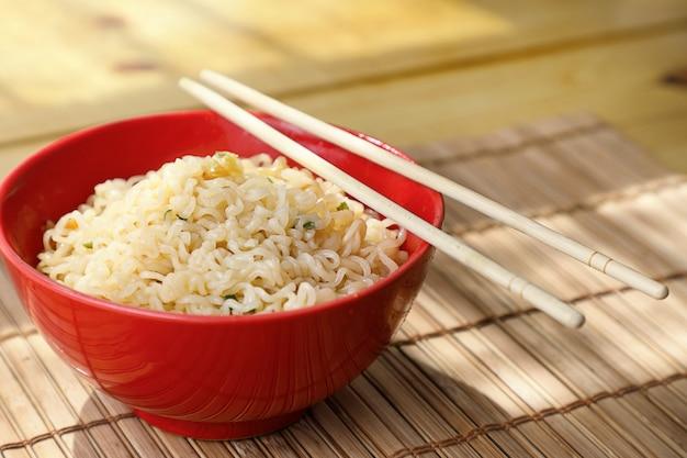 Asian noodles .