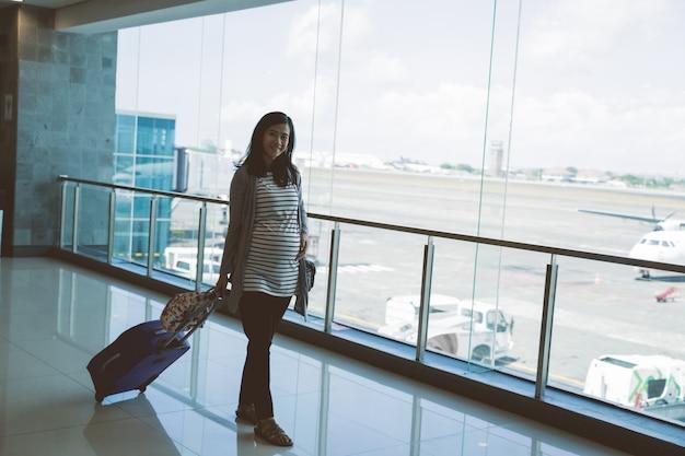 아시아 임산부 서 당기 가방