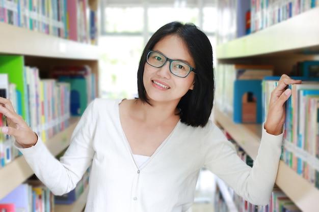 図書館で学んだアジアの学生