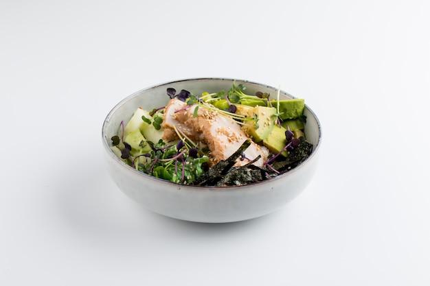 チキンと野菜のアジアンスタイルポークボウル