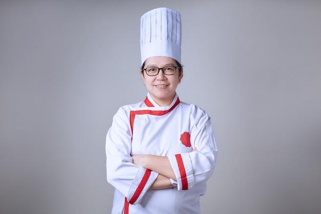 アジアの女性シェフ