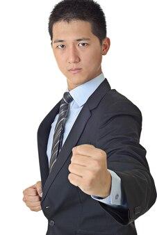 Азиатский молодой бизнесмен портрет