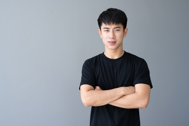 Asian young handsome man