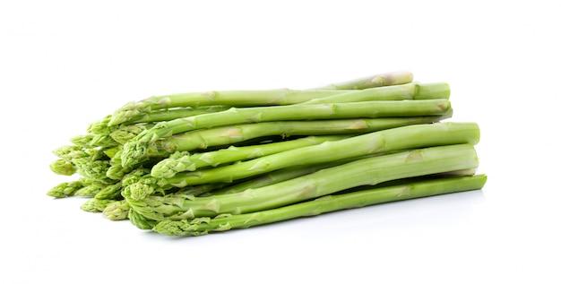 Asparagus isolated full