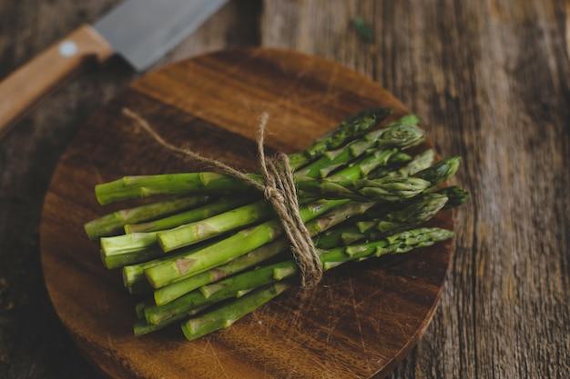Asparagus on the table