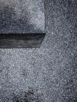 Asphalt and concrete