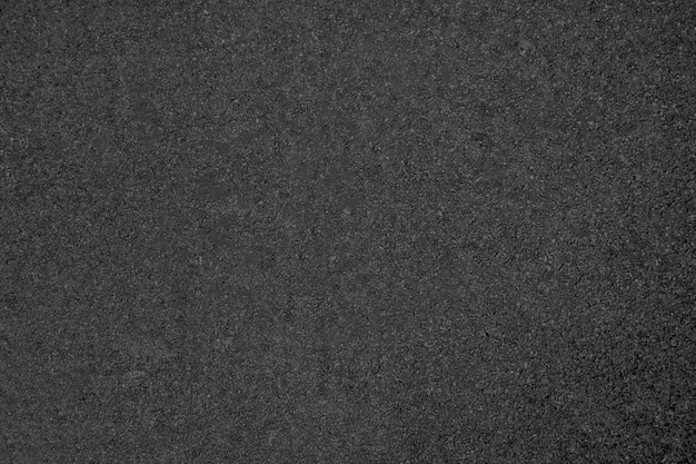 Asphalt road texture in dark gray color