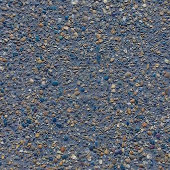 アスファルト道路テクスチャ灰色の石のシームレスな背景