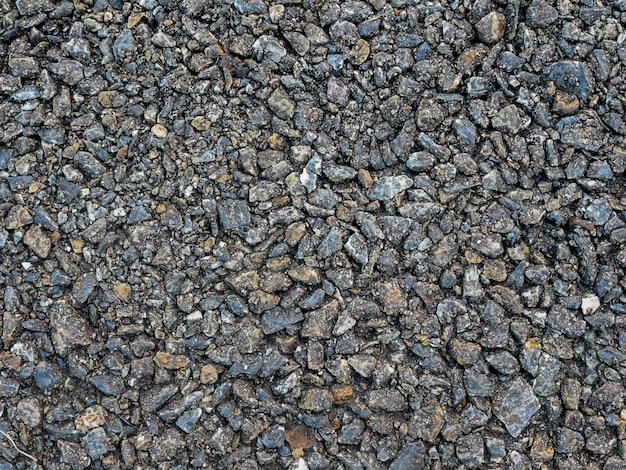 Asphalt stone road grunge texture background