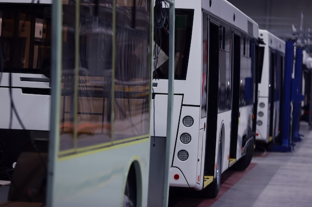 도시 전기 자동차의 조립 생산