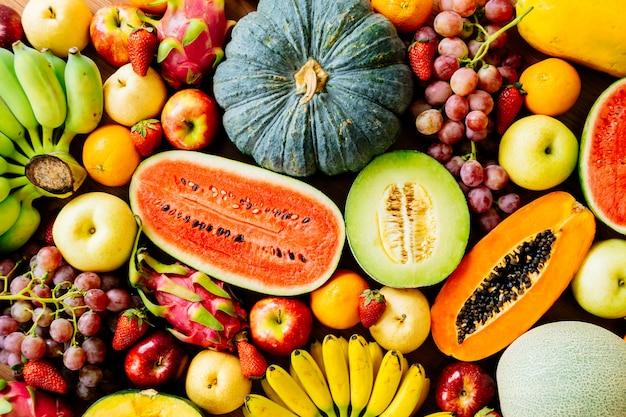 모듬 및 혼합 과일