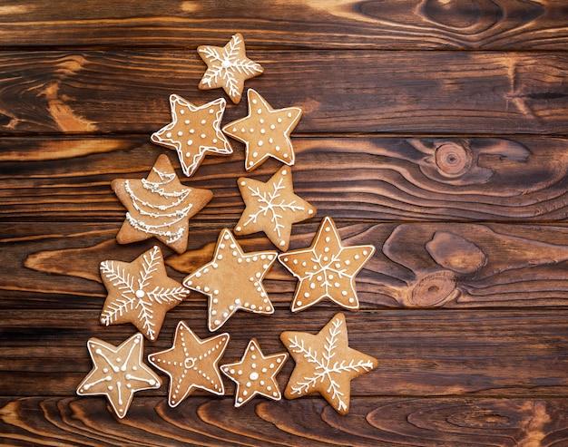 Рождественские пряники ассорти