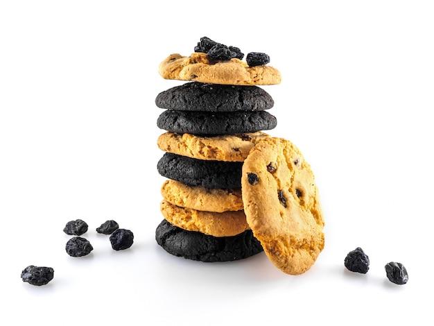スタックに配置された各種cookie。