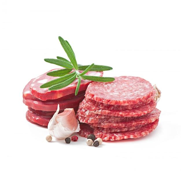 모듬 된 델리 고기, 로즈마리, 후추