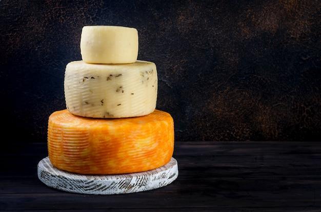 수제 치즈와 야채 모듬