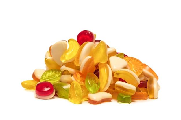 Ассорти вкусных мармеладных конфет