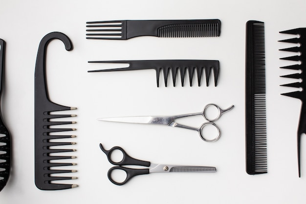 Assortment of hair equipment