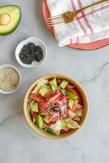 Assortimento di frutti di mare sani
