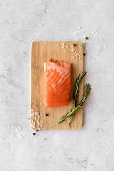 Assortment of healthy sea food