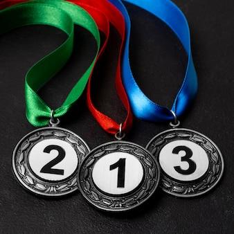 다양한 올림픽 메달