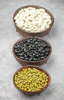 乾燥豆の品揃え