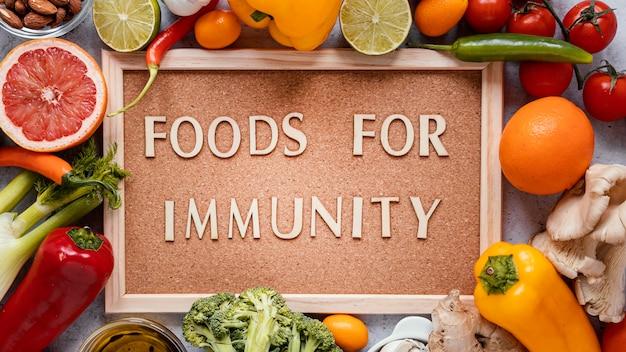 Ассортимент здорового питания для повышения иммунитета